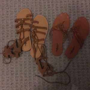 American eagle sandal bundle